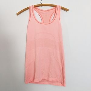 Lululemon Coral Pink Run Swiftly Tech Tank Top 8
